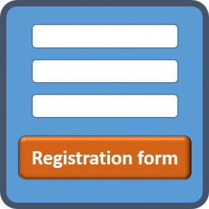 Registration button Small